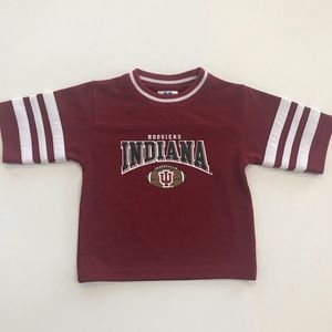 Indiana University IU Hoosiers Football Shirt 24M